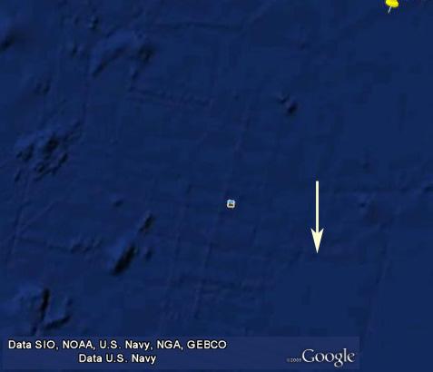 Atlantic Ocean anomaly Google 2.0