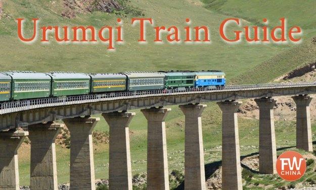Urumqi train guide, Xinjiang China