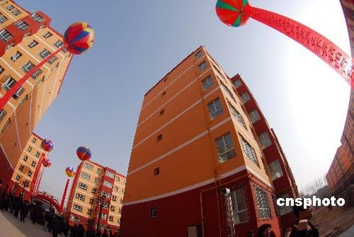 New apartments for Kashgar's Uyghur residents