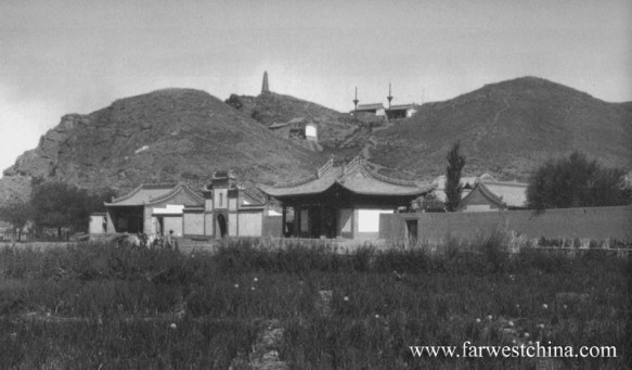 Urumqi's Hong Shan in 1907