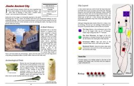 Example pages from the Turpan Travel Guide