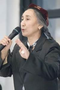 Uyghur activist