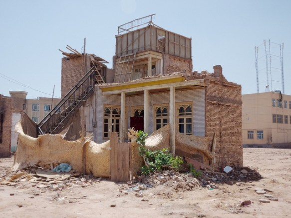 One of the few remaining homes in Kashgar's Old City