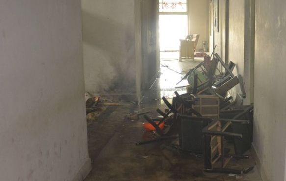 Destruction of a Hotan Police Station on 7.18 2011