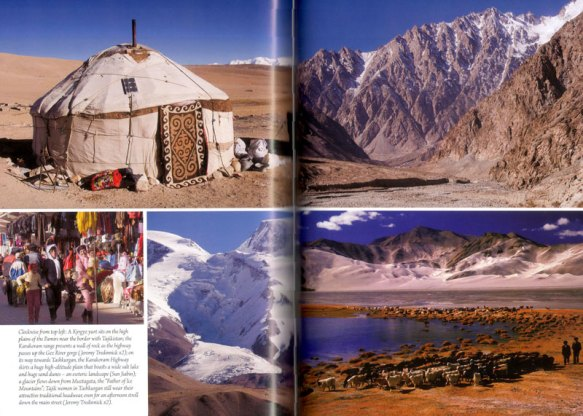 Tempting photos of Xinjiang in Odyssey's new guide by Jeremy Tredinnick
