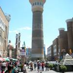 Entrance to Urumqi International Grand Bazaar in Xinjiang