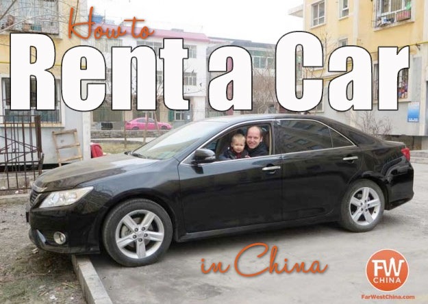 How to rent a car in China | an expat tutorial
