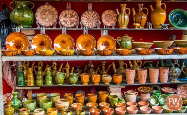 Souvenirs at the Kashgar Market
