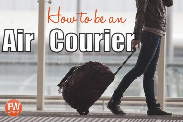 How to be an air courier 2018