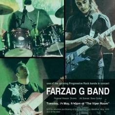 Farzad G band / May 2013 / Viper Room