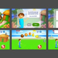 Numberlandia mobile game / helping students to learn through an engaging game
