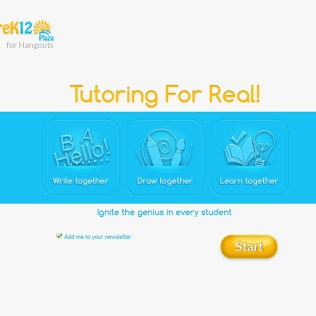 An app by PreK12 Plaza making the tutoring accessible
