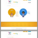 Mock ups for parents user experience for a website sponsored by Univision Contigo