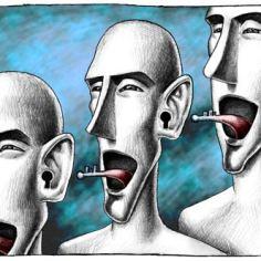 Dialogue Among Civilizations cartoon exhibition