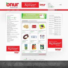 Onur groceries in Turkish
