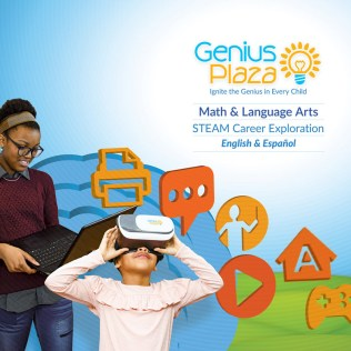Booth display design for Genius Plaza