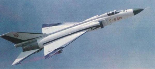 J-8 (Jianjiji-8 Fighter aircraft 8) / F-8