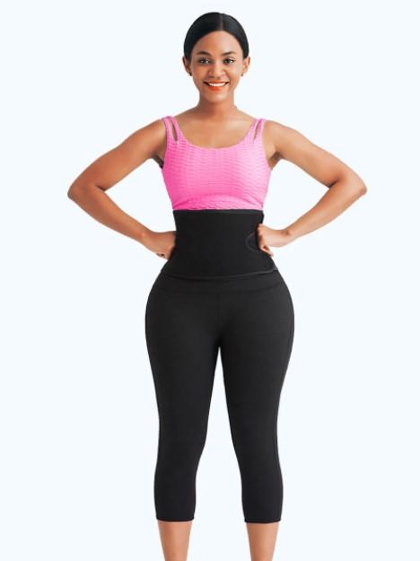 NeoSweat™ Workout Waist Training Capri Pants