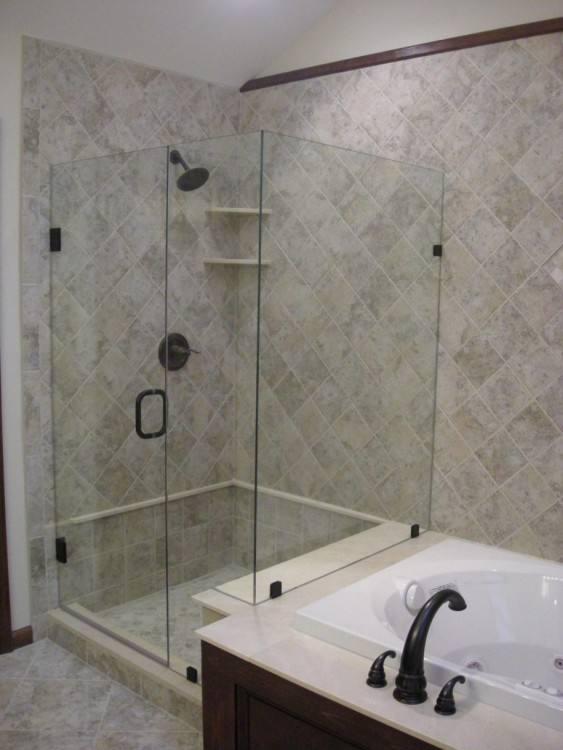bathroom ideas shower and tub
