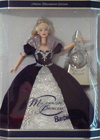 Holiday Barbie Dolls Collectible And Pink Box