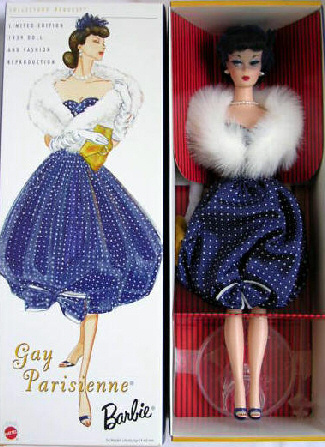 Gay Parisienne Vintage Barbie Reproduction