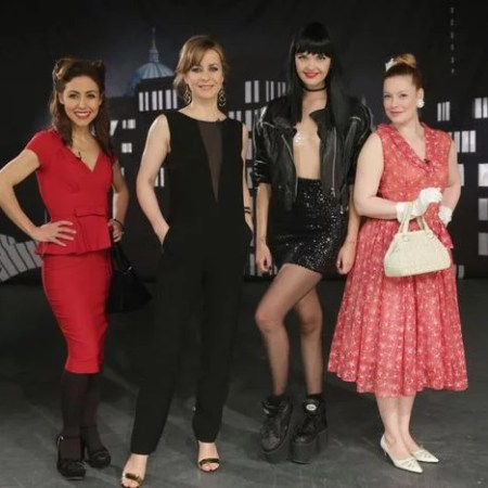 Promi Shopping Queen Berlin Anastasia Zampounidis, Bonnie Strange, Bettina Cramer und Enie van de Meiklokjes