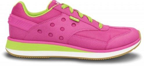 Crocs_Retro_Sneaker_W--Fuchsia-Volt_Green