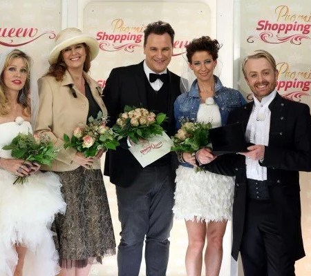 Promi Shopping Queen Maxi Biewer, Isabell Hertel, Gisela Muth , Ross Antony