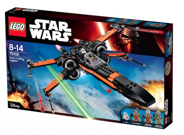Lego_StarWars_Poe´s X-Wing Fighter_ 75102_geschenk