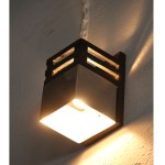 Wall Sconce Wood & Steel Combination (Set of 2)