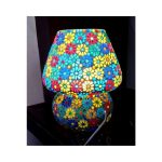 Tiffany Stone – GlassTable Lamp-a