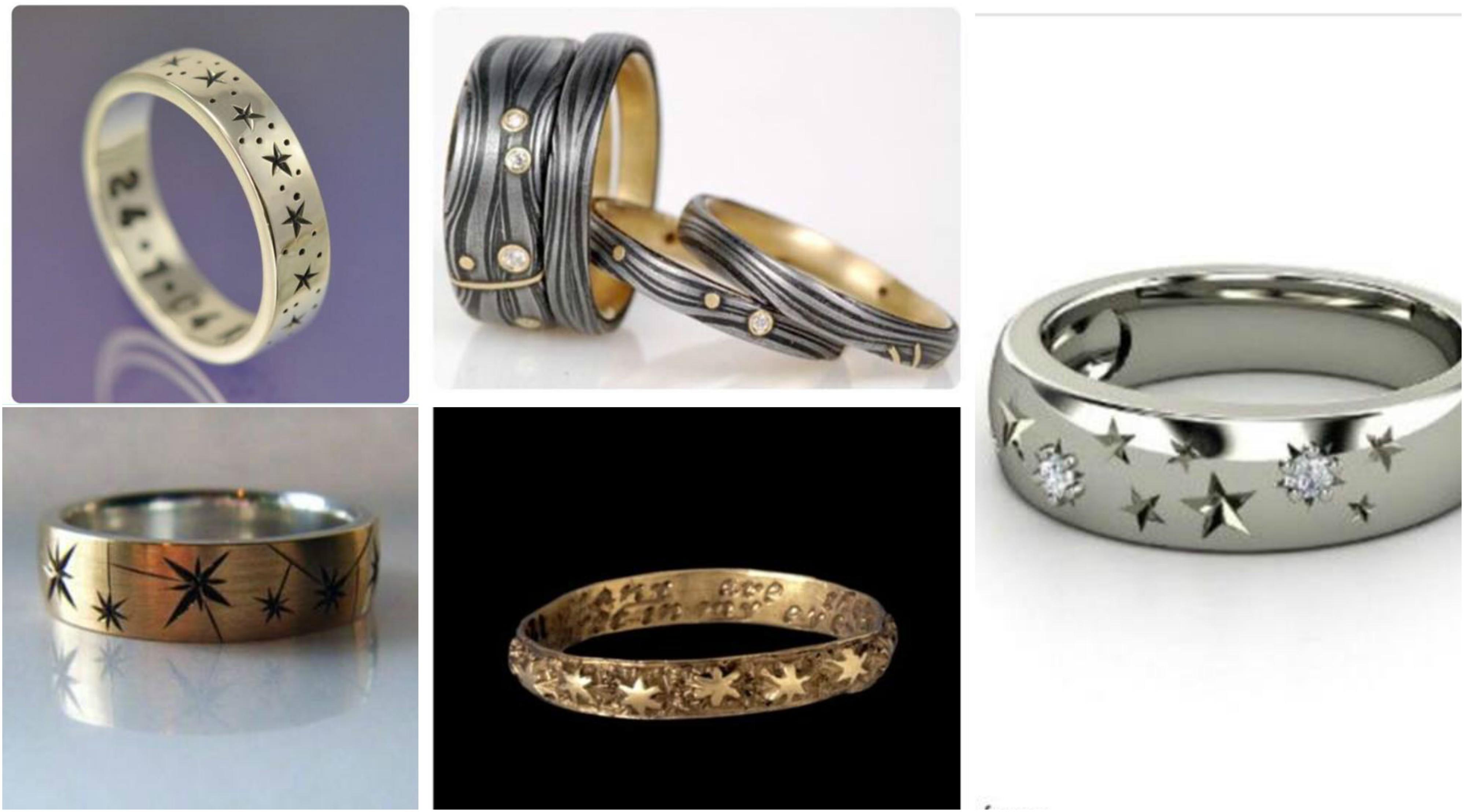 Elegant Wedding Ring Set Types