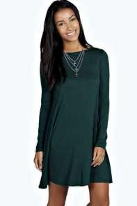 2015 Casual Dress Models - Green