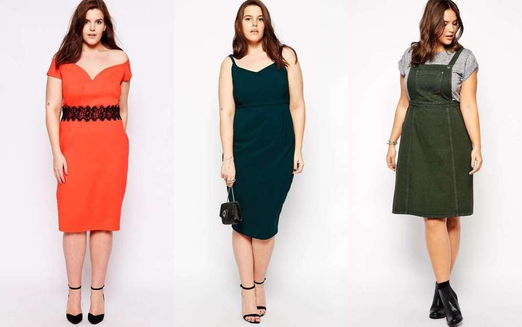 2015 Plus size Dress Models