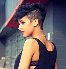 Black Short Hairstyles 2015