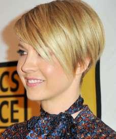 Short Hairstyles Yellow