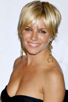 Yellow Short Hairstyles 2015
