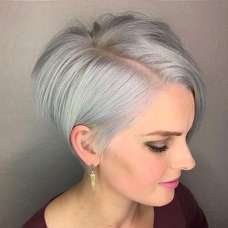 Short Hairstyle Grey 2017 - 8