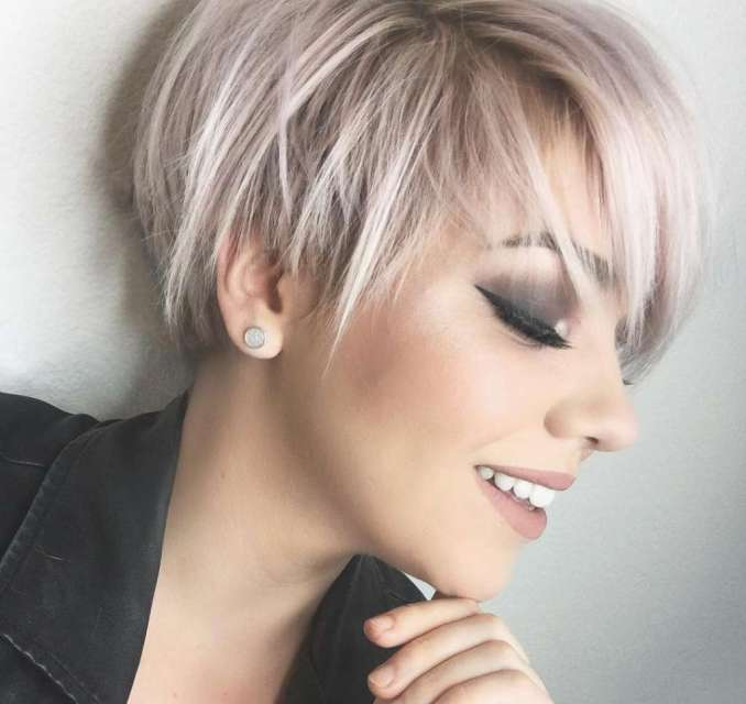 Image Result For One Length Short Hairstyles