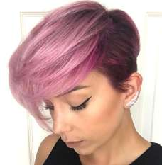 Short Purple Hairstyles 2017 - 6