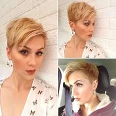 Alina Short Hairstyles - 4