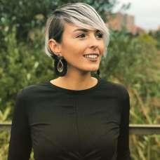 Cristina Delgado Gutierrez Short Hairstyles - 1