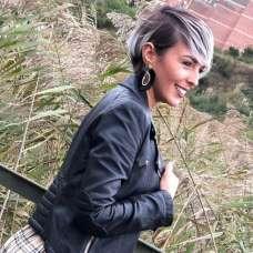 Cristina Delgado Gutierrez Short Hairstyles - 8