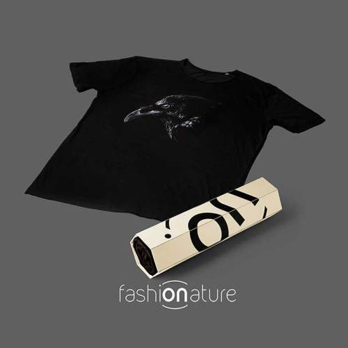 Men's Crow Black T-Shirt