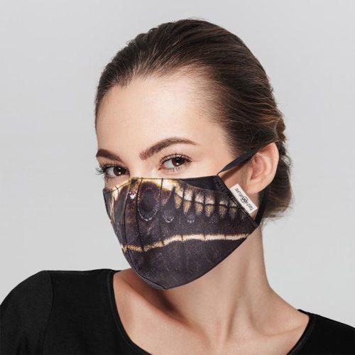 Mascherina Filtrante Mask Calleta cotone azo-free donna
