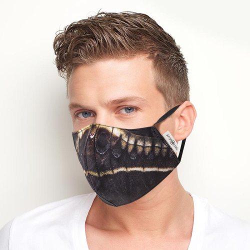 Mascherina Filtrante Mask Calleta cotone azo-free uomo