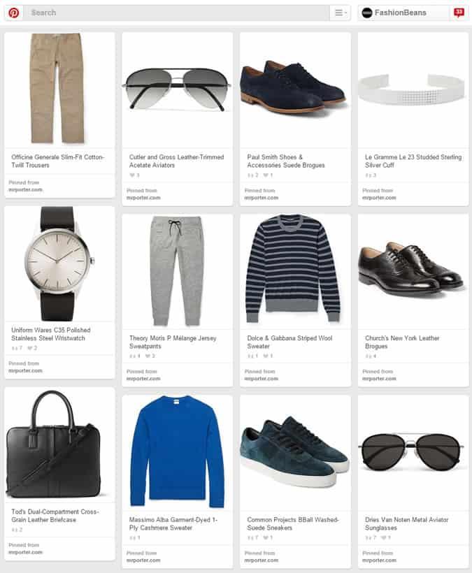 Men's Fashion Board On Pinterest