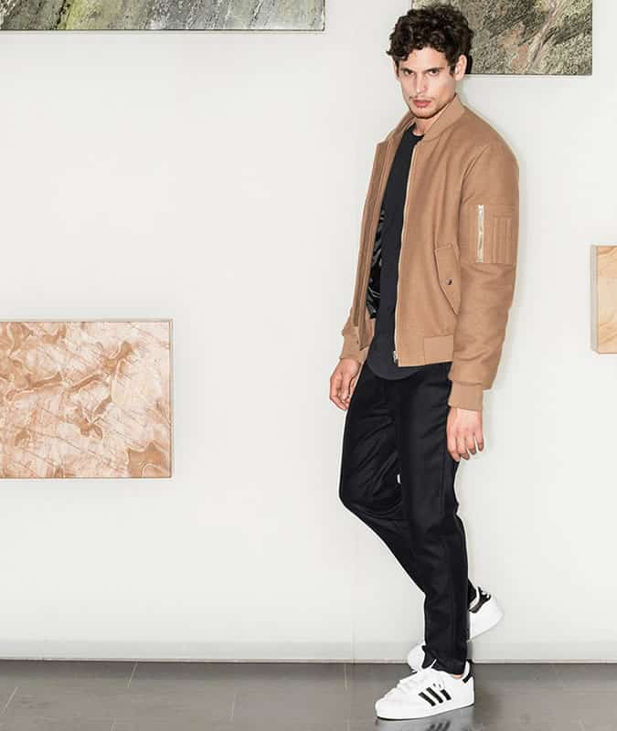 Men's Military Outerwear/Jackets Streetwear Outfit Inspiration