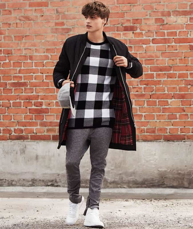 Men's Sweatpants/Trackpants/Joggers Streetwear Outfit Inspiration