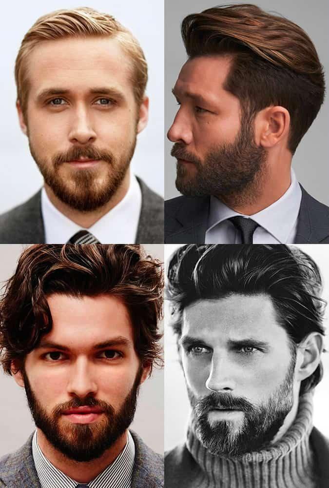 Men's Short, Tailored Beards